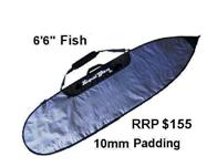 Fun Board Cover Superthick  6Ft 6In Fish/Hybrid