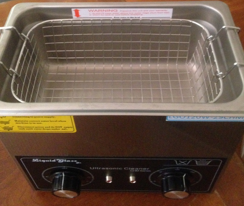 Ultrasonic Cleaner 120W 2.9L heated twin dials